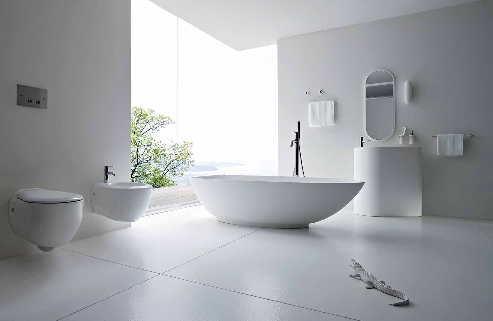 Remarkable Black and White Modern Bathroom Designs 1633 x 1065 · 237 kB · jpeg