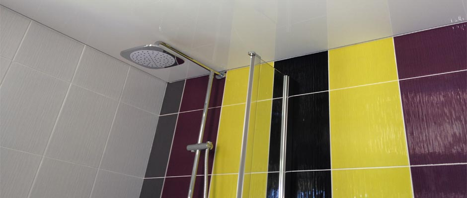 Stretch ceilings full uk servicesmodern kitchens and for Bathroom design northampton